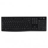 Tastatur wireless K270 USB schwarz