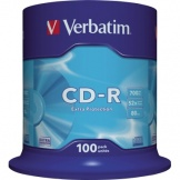 CD-R 700MB 52fach 80min Extra Protection VE100