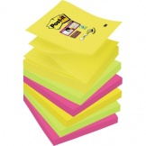 Haftnotiz Post-it Super Sticky 76x76mm 3Farben