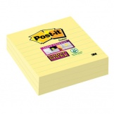 Haftnotiz Post-it Super Sticky 101x101mm gelb lin